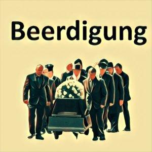 Traumdeutung Beerdigung