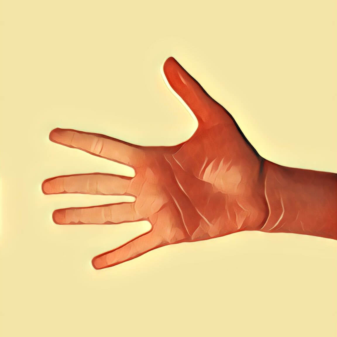 Hand - Traum-Deutung