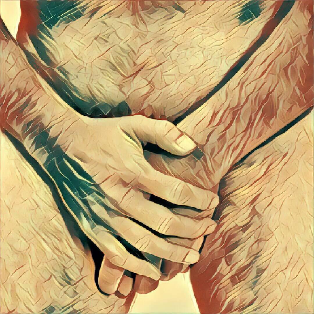 geschwollener penis