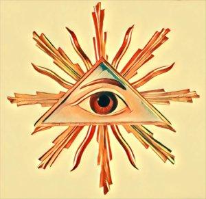 Spirituelle bedeutung auge rechtes Linkes Auge