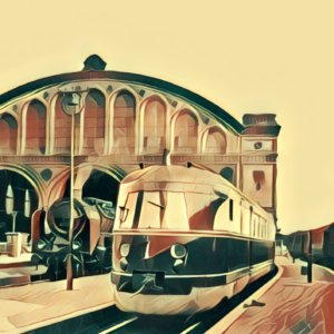 Traumdeutung Bahnhof