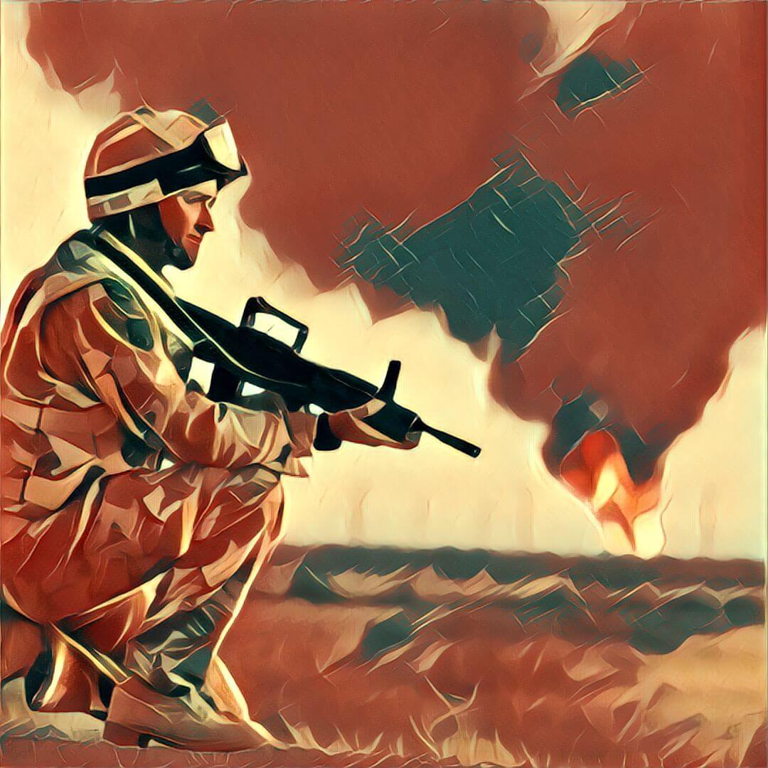Traum Krieg