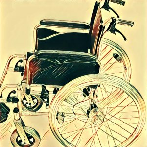 Traumdeutung Rollstuhl