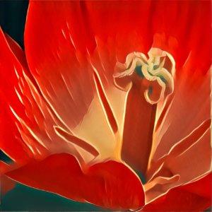 Traumdeutung Blumenstempel