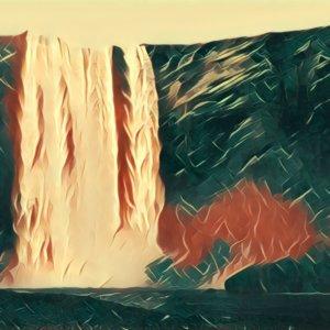 Traumdeutung Wasserfall