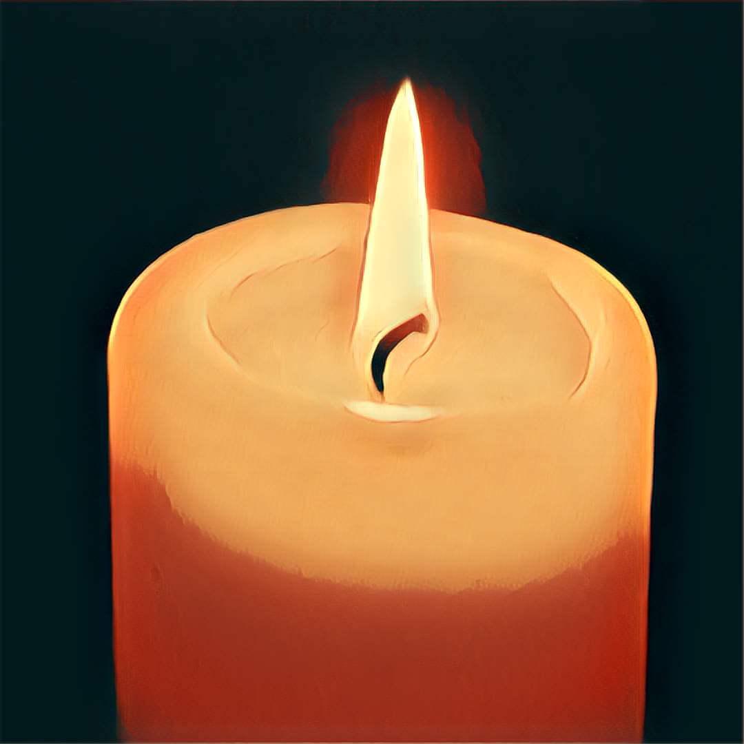 Bild Brennende Kerze