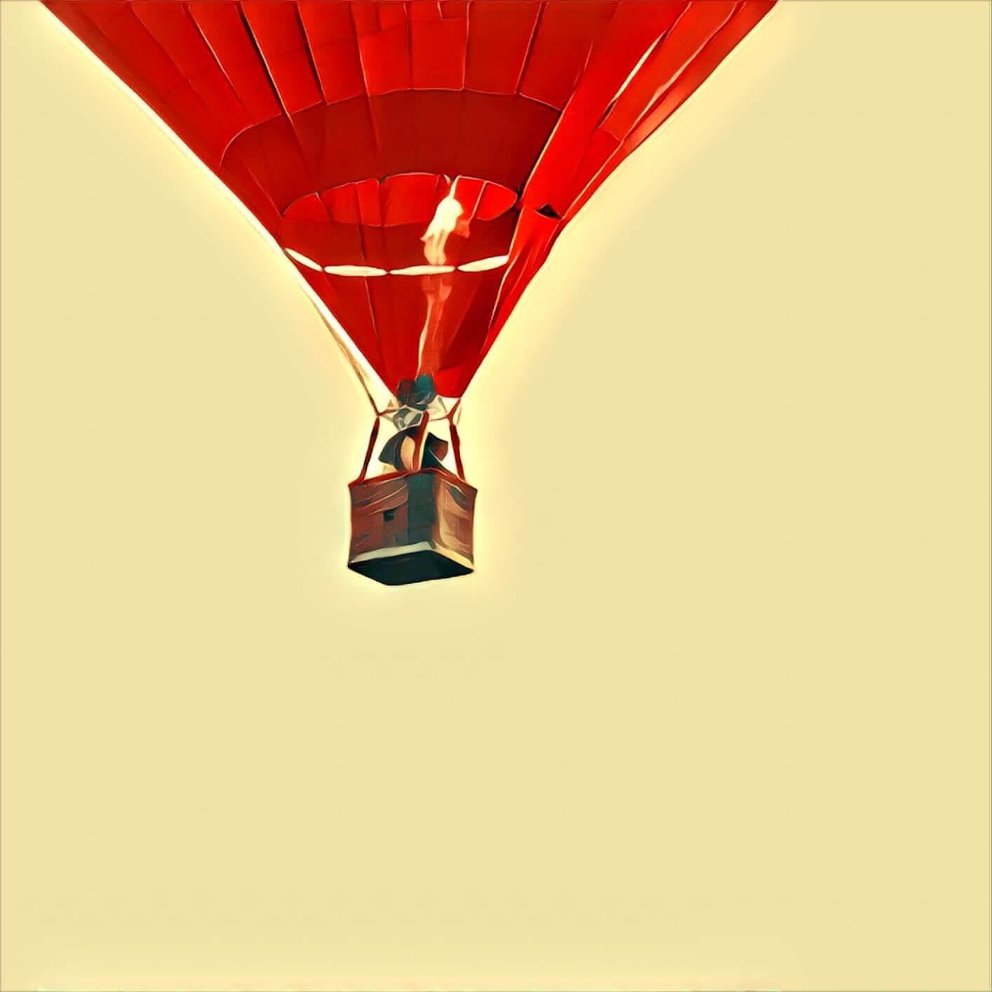 Traumdeutung Heißluftballon