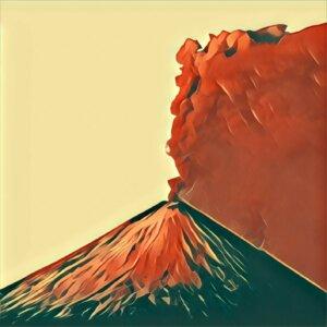 Traumdeutung Vulkanausbruch