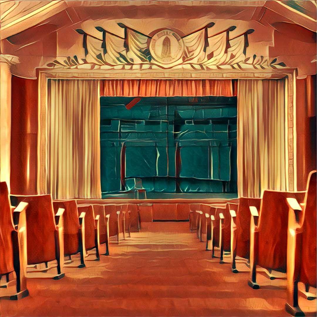 Theatersaal Traum Deutung