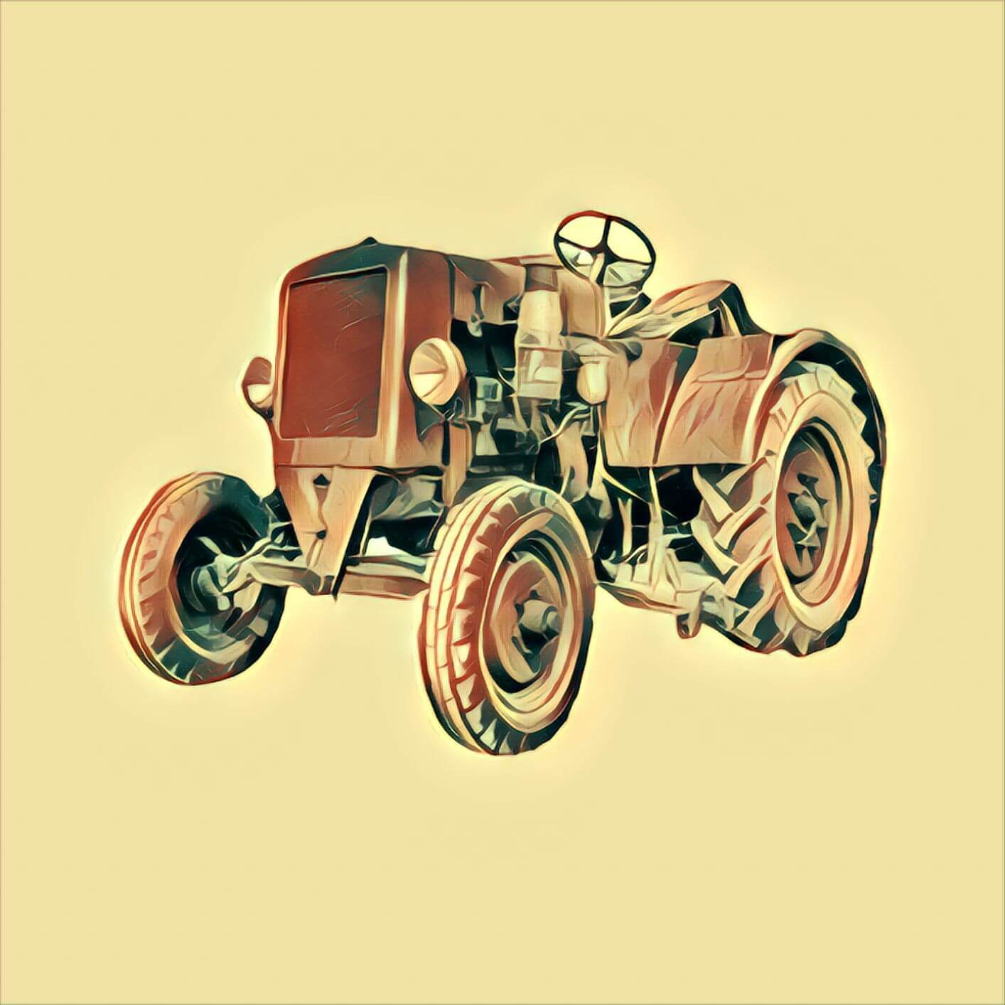 Traktor - Traum-Deutung