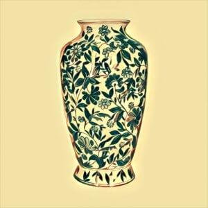 Traumdeutung Vase
