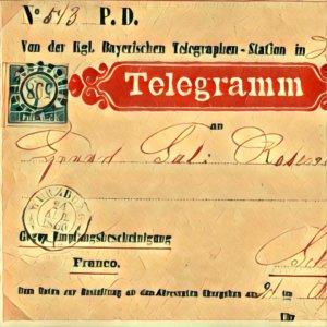 Traumdeutung Telegramm