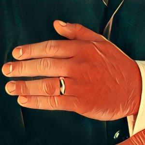 Ringfinger bedeutung linker spirituelle Zeigefinger