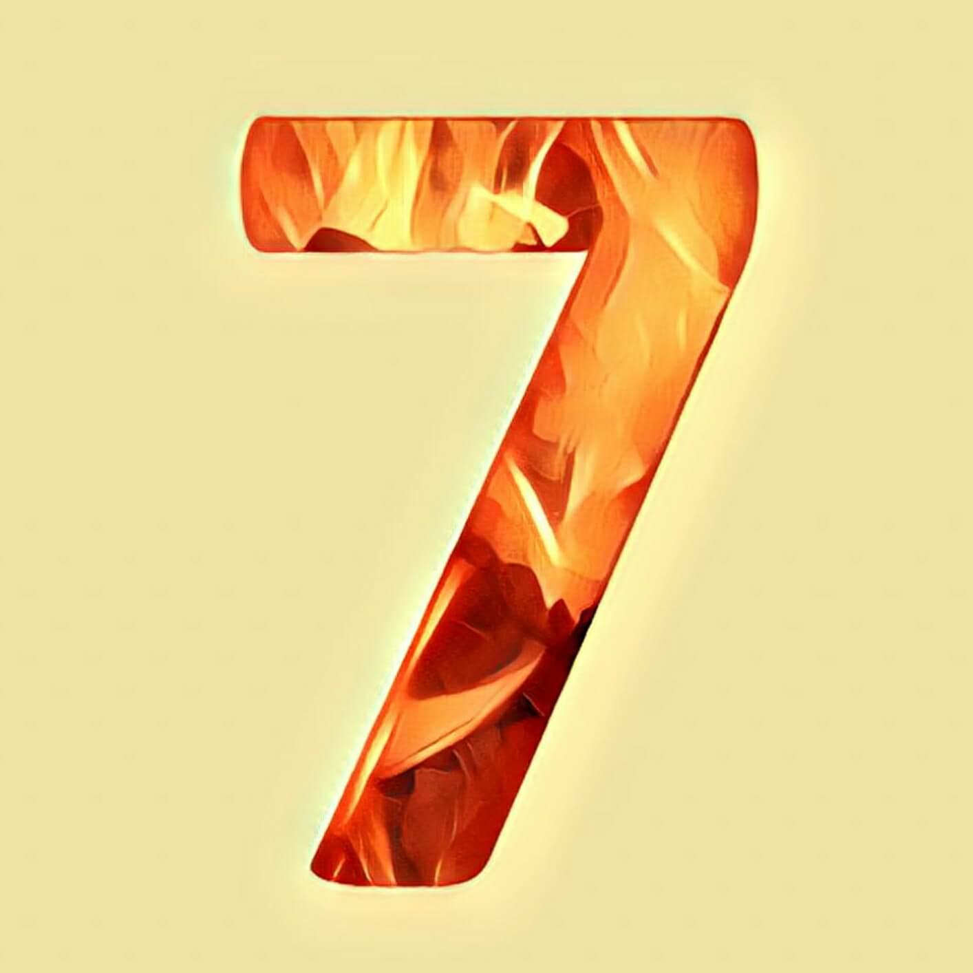 Zahlensymbolik 7