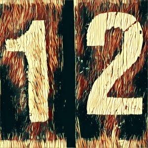 Zahl 12