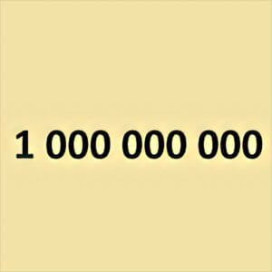 Traumdeutung Milliarde