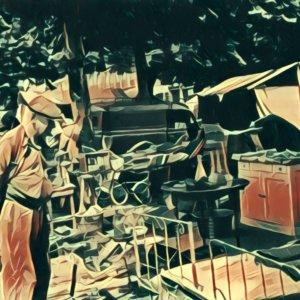 Traumdeutung Flohmarkt