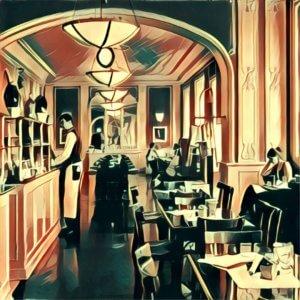Traumdeutung Caféhaus