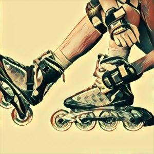 Traumdeutung Inline-Skates