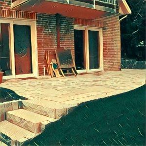 Traumdeutung Terrasse