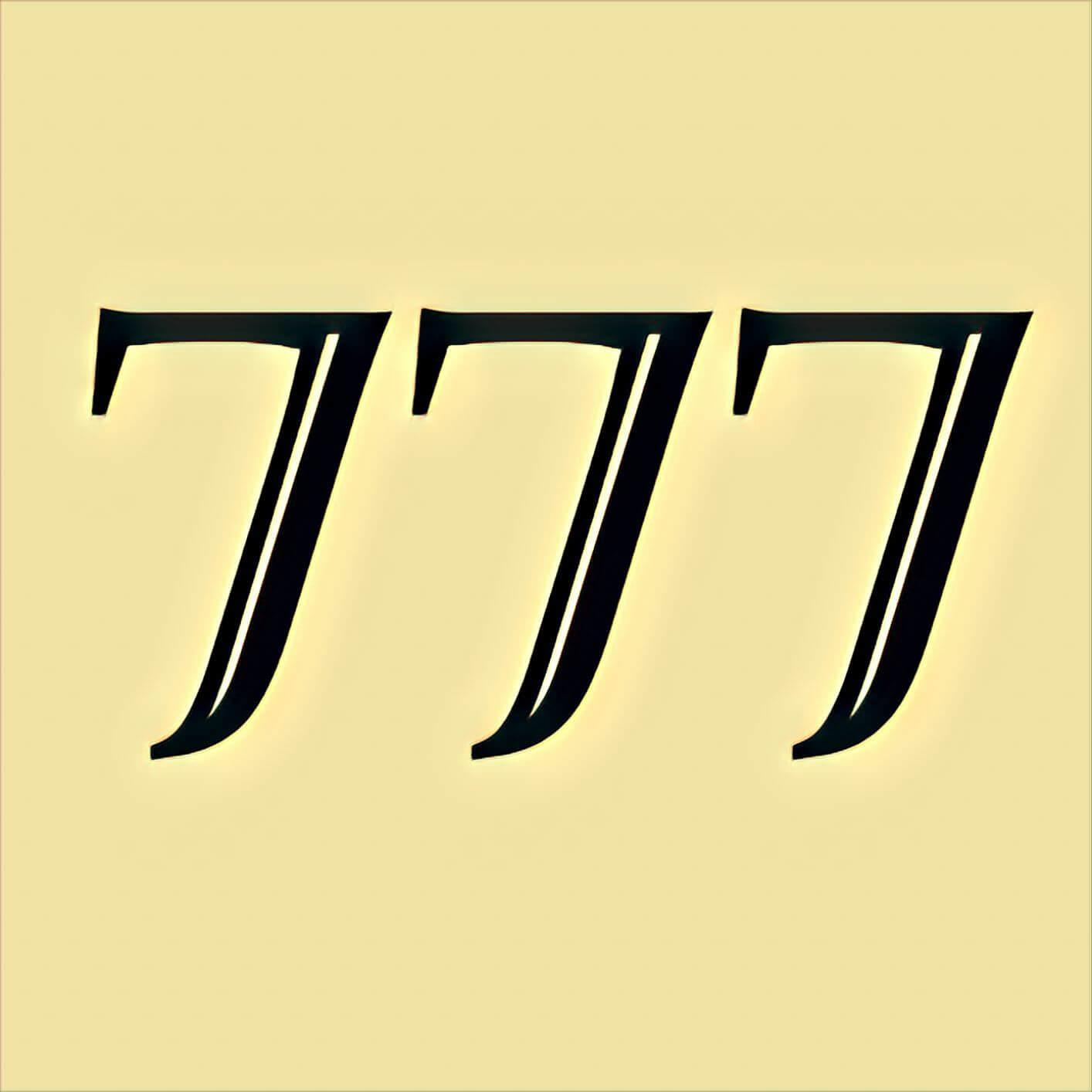 Zahl 777 Bibel