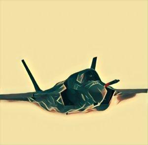 Traumdeutung Kampfjet