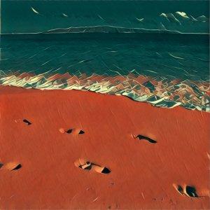 Traumdeutung Fußspur