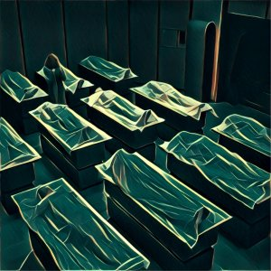 Traumdeutung Leichenhalle