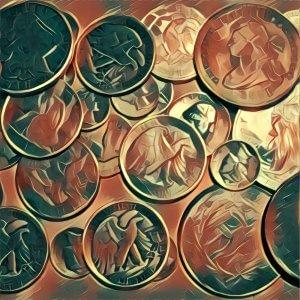 Traumdeutung Silbermünzen